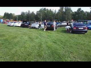 Parkking заезд участников продолжается