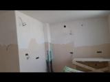 Ремонт квартир в Вологде, 3-ком, 90 м2, начинаем шпаклевать стены и потолки