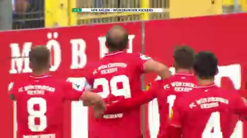 Highlights VfR Aalen vs. FC Würzburger Kickers