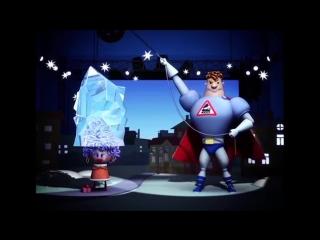 Аркадий Паровозов спешит на помощь - Почему зимой нельзя ходить с непокрытой головой - мультфильм