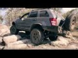 Jeep Grand Cherokee WH WK offroading 4x4
