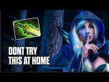 Drow Ranger Ethereal Blade Build by Jerax - Top MMR Pro Player  Dota 2