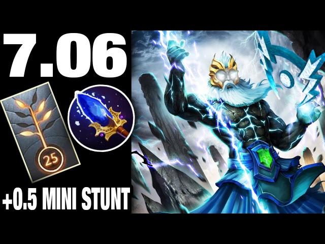 Zeus 7.06 0.5s Lightning Bolt Ministun Too OP Talent Tree Cr1t Gameplay