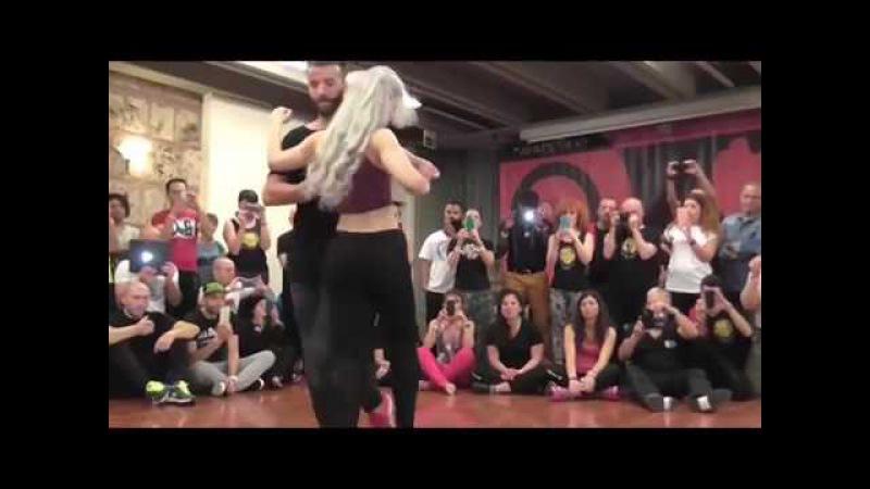 Karipande 0017 Sexy Sara Lopez and Reda dance Kizomba
