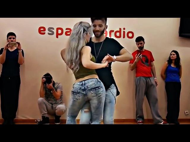 НЕВЕРОЯТНО КРАСИВЫЙ ТАНЕЦ! Reda and Sara Lopez, Kizomba Dance