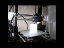 3D принтер печать Дед мороз, на новый год.