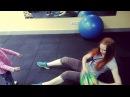 Тренировка с детьми для молодых мам у которых нет времени на тренажерный зал