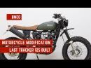 Born Tracker 125 - Motorcycle Modification - Last Tracker 125 Built 03