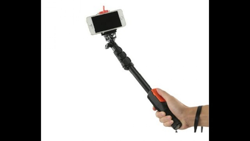 The Best Quality Selfie Rotary Portable Handheld Telescopic Monopod Tripod Bluetooth Remote Shutter