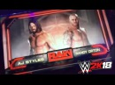WWE 2K18 Gameplay - (Randy Orton Vs Aj Styles Breakout!!)