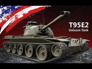 World of Tanks Бой на реферальном танке Т95Е2 Воин, Мастер, wot, wargaming