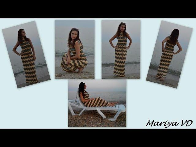 Мои работы. Шикарное платье МИССОНИ спицами. МНОГО ФОТО Mariya VD.