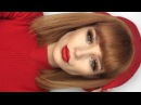 SImple Holiday Makeup Look  Glitter Bright Red Lips Lupe Sujey Cuevas