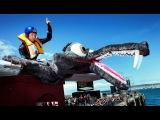 Сочинский экстремал пролетит над Москвой на гигантской божьей коровке
