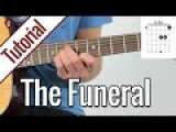 Band Of Horses - The Funeral Gitarren Tutorial Deutsch