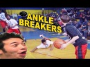 INSANE ANKLE BREAKERS, CROSSOVERS, PEOPLE GETTING DUNKED ON AND MORE! BASKETBALL VINES COMPILATION