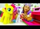 Игры для девочек Май Литл Пони и Принцесса СОФИЯ готовят ПЛЕЙ ДО пирог! Игрушки пони