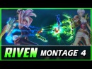 Riven Montage 4 - Adrianaries Razaoh, Best Pro Outplays Compilation | League of Legends