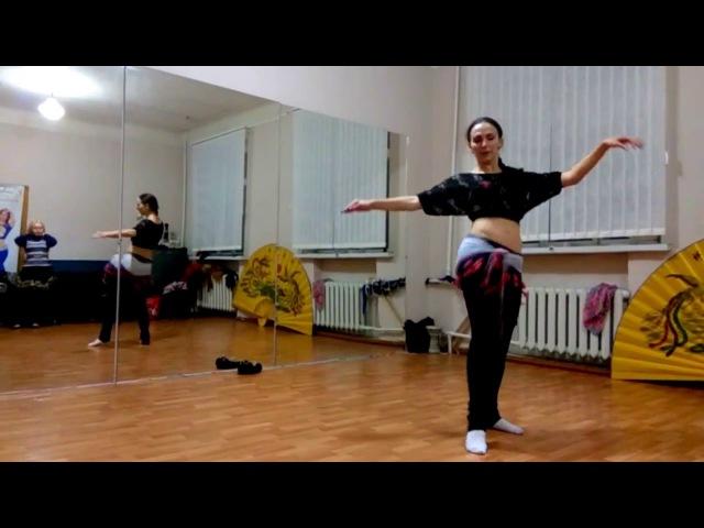 Наталья Ламис. Связка с занятия. Восточные танцы в Харькове.