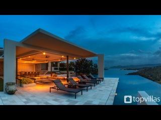 Новое видео от Топ Виллас - потрясающая вилла в Тайланде. Идеальное расположение - первая линия, пляж Чонг Мон на острове Самуи