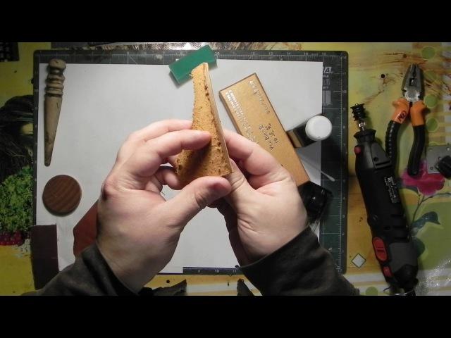 Инструмент для обработки уреза кожи. Как обработать урез кожи? Tools for processing the skin