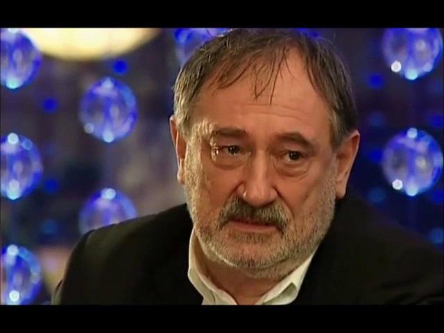 Богдан Ступка, Алена Хмельницкая в фильме 'Три полуграции' mp4