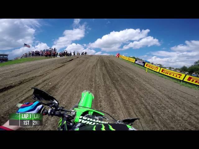 GoPro: Adam Cianciarulo Moto 1 - Unadilla MX Lucas Oil Pro Motocross Championship 2016