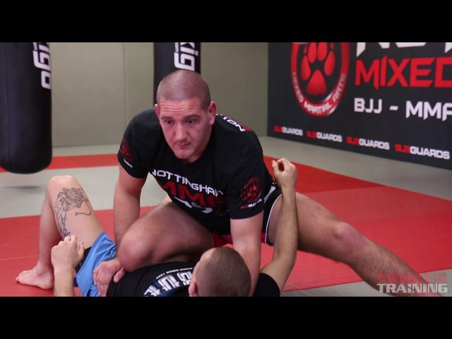 Side Control to Knee On Belly Transition (3 of 8) Grappling MMA | BJJ Fighter Training Tutorial