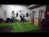 Axle 143 kg for 2 reps. Nikita Golovan