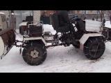 Самодельные трактора Plut-1 и Plut-2