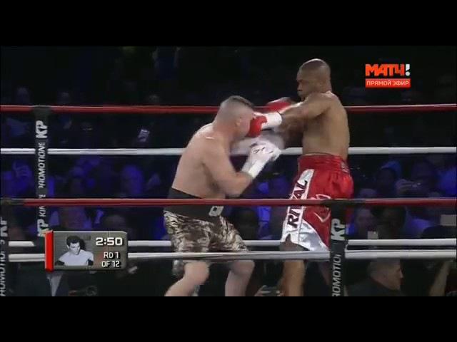 Рой Джонс-Бобби Ганн полный бой.Roy Jones Jr vs Bobby Gunn