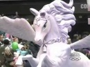 Barbie and The Magic of Pegasus at the 2005 Macy's Thanksgiving Day Parade
