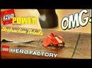 LEGO POWER | Сплющиваем деталь брони HERO FACTORY