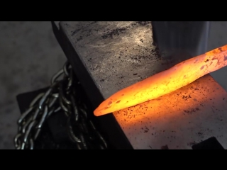 How To Make a Knife From a Chainsaw Chain