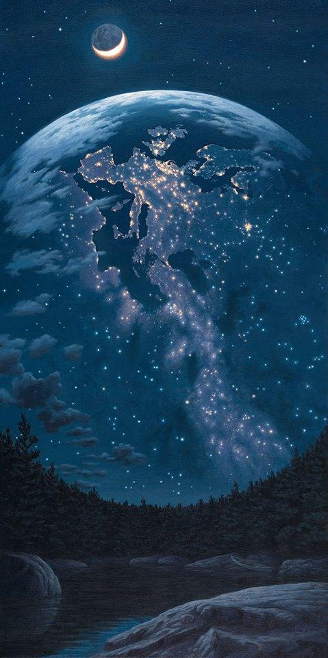 Звёздное небо и космос в картинках RGnV_kfLIeI
