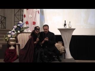 Дуэт Генриха и Розалинды из оперетты И.Штрауса Летучая мышь. Исполняют Дарья Батова и Сергей Муравьев