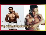 Топ 20 Самых Популярных Боксеров Всех Времен