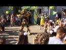 Танцы с трансформерами на открытии кафе Спартановка 01092017