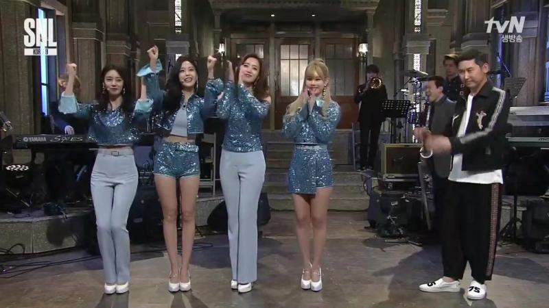 170624 tvN Saturday Night Live (T-ARA Cut)