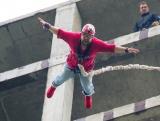 Павлик прыгает с 60 метров
