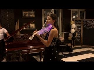 Хрустальная скрипка на свадьбе! Электроскрипка на свадьбу Москва