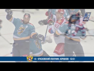 ТОП - 10: Лучшие голы Sochi Hockey Open 2017 | TOP - 10: the best goals
