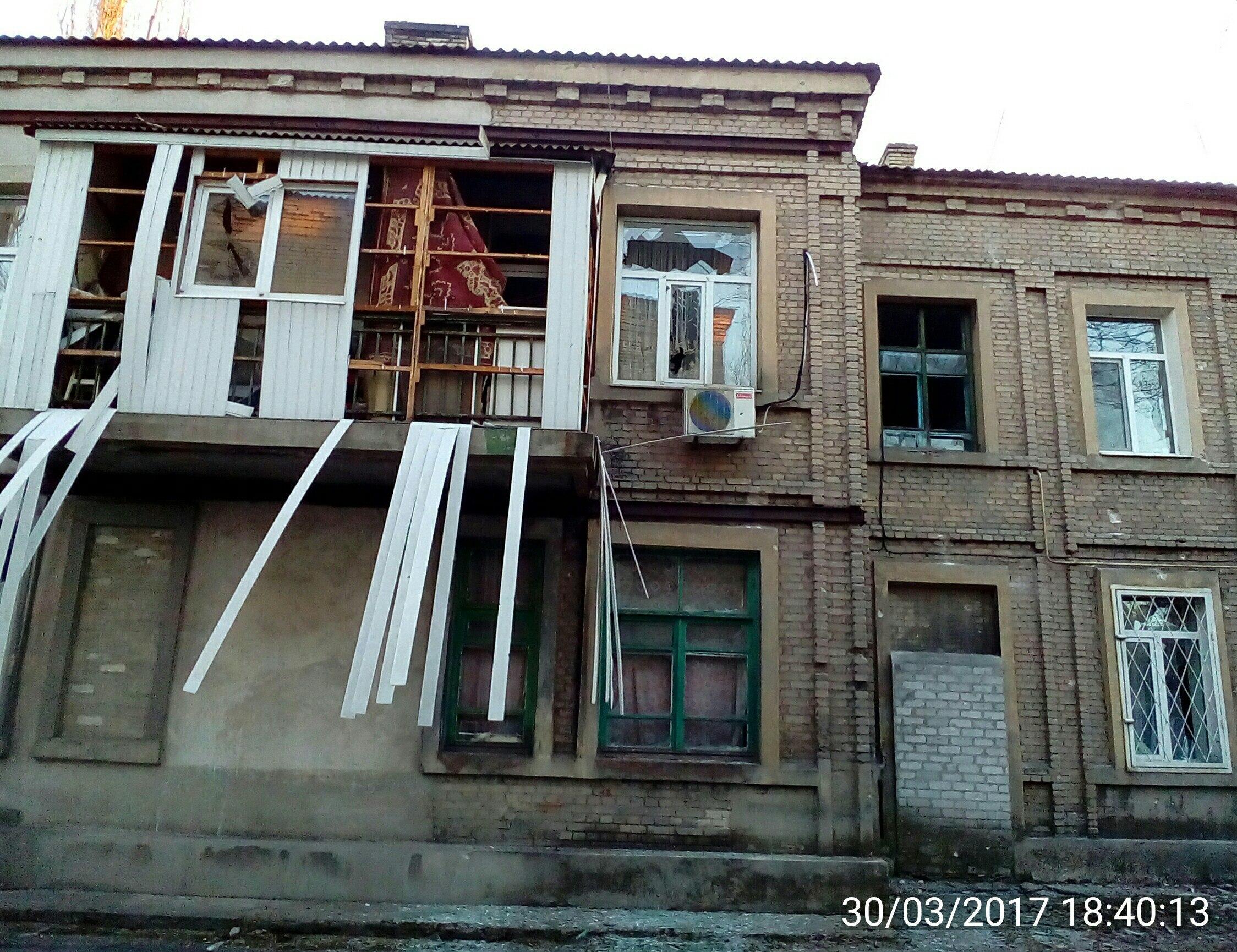 Сводка военных событий в Новороссии за 30.03.2017