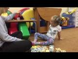 Ольга Комарова научит ребенка читать за очень короткий срок. Анечка занимается всего 2 недели