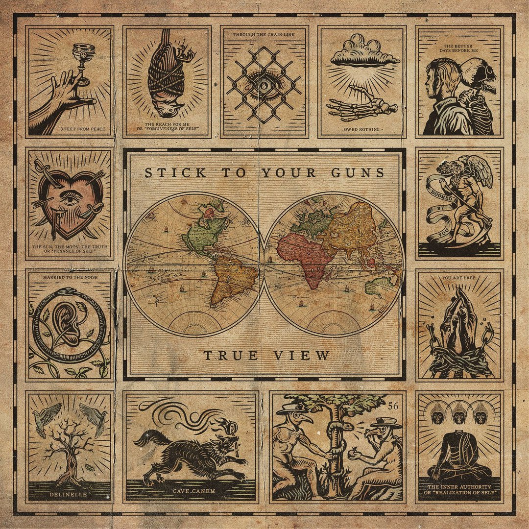 Stick To Your Guns - The Sun, The Moon, The Truth or 'Penance of Self' [single] (2017)