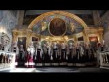 Херувимская песнь в исполнении Северного русского народного хора в Ильинском соборе
