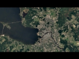 Санкт-Петербург 1984-2016 - Google показала, как изменилась Земля за 33 года.