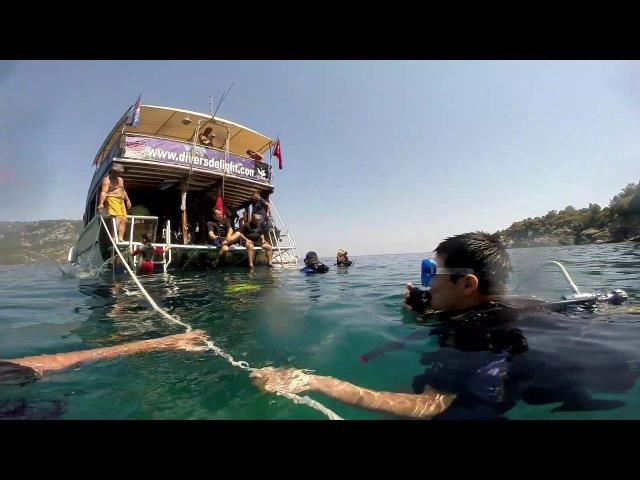 На дне средиземного моря, Мармарис