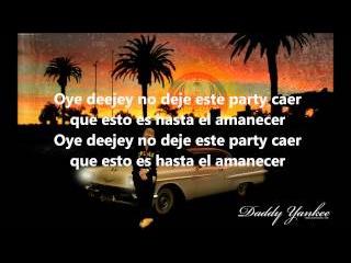 Daddy Yankee - En Sus Marcas Listos Fuera ( LYRICS )