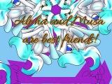 Alpha and Blue are best friends! - Speedpaint OC MLP